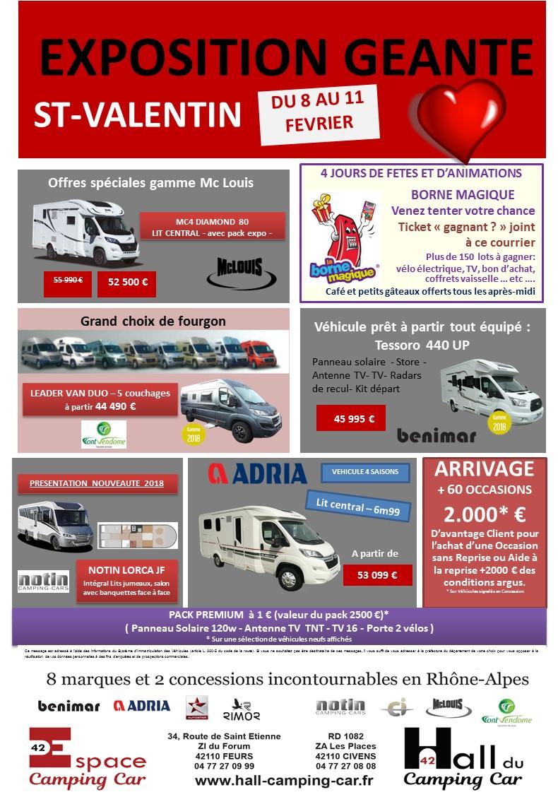 Portes ouvertes sur nos sites du 8 au 11 fevrier hall du camping car - Porte ouverte camping car ...