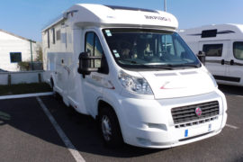 camping-car occasion rapido 691F