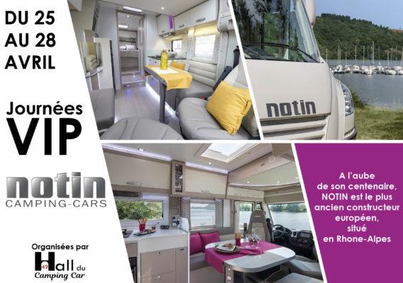 Journées VIP au Hall du Camping car 42 du 25 au 28 avril