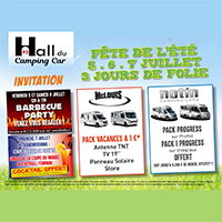 3 jours de folie au hall du camping-car 42