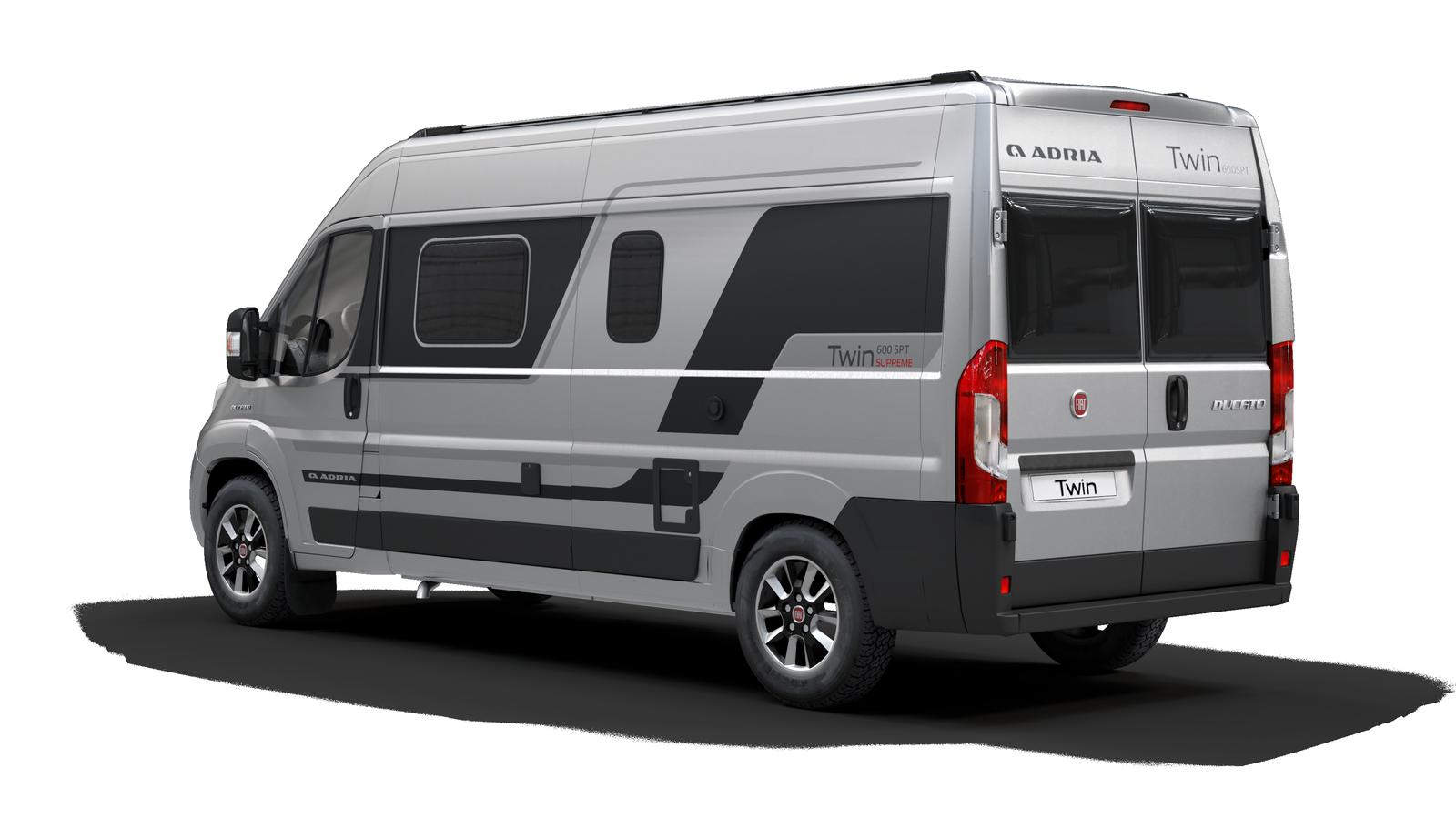 Fourgon neuf Adria: Twin Supreme 600 SPB - Fourgon lit sur soute sur Fiat