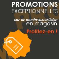 Miniature Promotions exceptionnelles en magasin